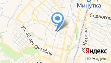 Управление Пенсионного фонда РФ по г. Кисловодску на карте