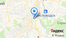 Отдел МВД России по г. Кисловодску на карте