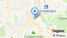 Отдел Управления ФСБ РФ по Ставропольскому краю в г. Кисловодске на карте