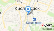 Лотереи Ставрополья на карте