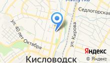 Кисловодская городская организация профсоюза работников здравоохранения РФ на карте