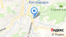 Центр образования города-курорта Кисловодска на карте
