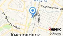 Кисловодский государственный цирк на карте