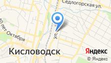 Отделение Управления Федерального казначейства по Ставропольскому краю на карте