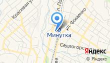 Северо-Кавказский специализированный санаторно-реабилитационный центр МЧС на карте