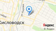 Отдел службы судебных приставов г. Кисловодска на карте