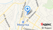 АКВУС-КМВ на карте