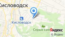 Мед Кавказа на карте