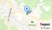 Метеорологическая станция на карте