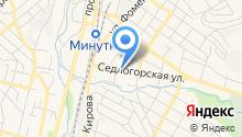 Северо-Кавказский горный клуб на карте