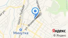 StreeЖ на карте
