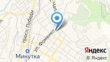 Кавминводский центр профессиональной подготовки и повышения квалификации кадров Федерального дорожного агентства на карте
