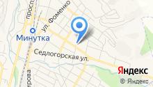 Краевая специализированная психиатрическая больница №3 на карте
