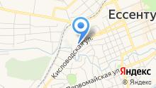 Мега-Ессентуки на карте