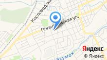Детский сад №28, Колосок на карте