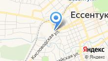 Банкомат, КБ ЕвроситиБанк на карте