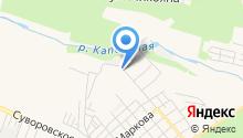 Специализированный батальон ДПС ГИБДД Главного управления МВД России по Ставропольскому краю на карте
