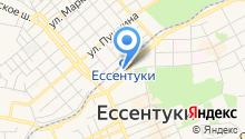 Управление Пенсионного фонда РФ по г. Ессентуки на карте