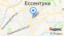 Парикмахерская на ул. Гагарина на карте