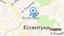Министерство РФ по делам Северного Кавказа на карте