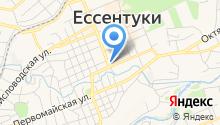 Магазин хозяйственных товаров на ул. Гагарина на карте