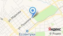 Центральный стадион на карте
