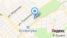 Детский сад №17, Ромашка на карте
