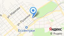 Спартак на карте