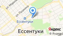 Ессентукский на карте
