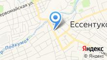Кавказгенстрой на карте