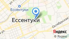 Отдел Управления ФСБ РФ по Ставропольскому краю в г. Ессентуки на карте