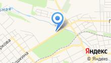 Пушкинские бани на карте