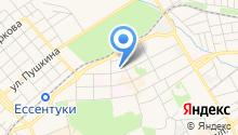 Отделение управления Федерального казначейства по Ставропольскому краю в г. Ессентуки на карте