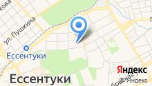Объединение котельных курорта на карте