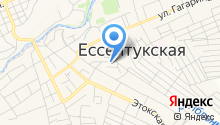 ЖКХ Предгорного района, МУП на карте