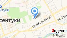 Отдел МВД России по г. Ессентуки на карте
