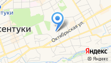 Октябрьская площадь на карте