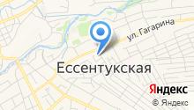 Адвокатская контора Предгорного района на карте
