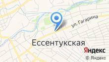 Ессентукское КООП на карте