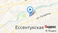 Инспекция Федеральной налоговой службы России по Ставропольскому краю в станице Ессентукской на карте
