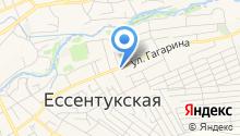 Адвокат Бугаев С.А. на карте