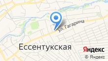 Отдел МВД России по Предгорному району на карте