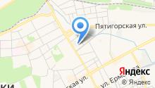 Аква-Вайт на карте