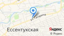 Уголовно-исполнительная инспекция Управления ФСИН по Ставропольскому краю на карте