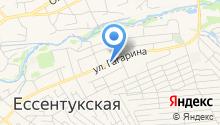 Магазин грузинских лавашей на карте