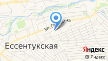 Отделение Управления Федерального казначейства по Ставропольскому краю в станице Ессентукская на карте