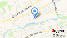 Комбинат благоустройства города, МБУ на карте
