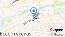 Координационный совет организаций профсоюзов предгорного Муниципального района на карте
