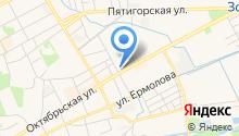 Александра на карте