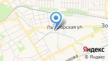 Объединенная Северо-Кавказская типография, ЗАО на карте